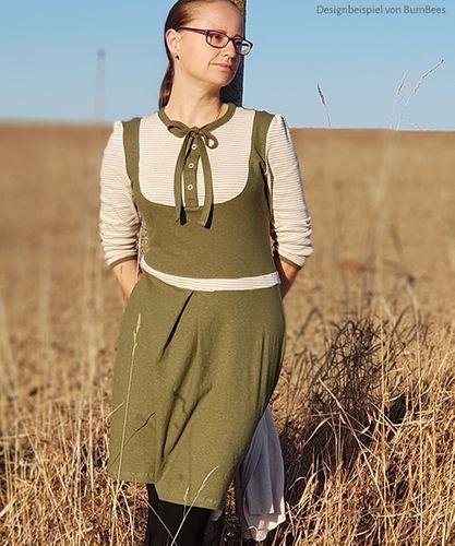 Produktfoto von kreativlabor Berlin zum Nähen für Schnittmuster Kleid & Shirt Masha