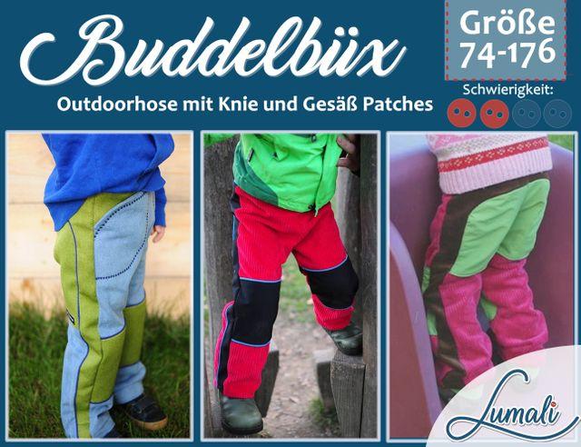 Produktfoto von Lumali zum Nähen für Schnittmuster Buddelbüx