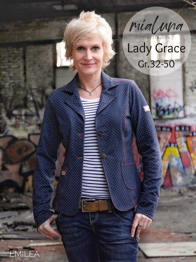 Produktfoto von mialuna zum Nähen für Schnittmuster Lady Grace