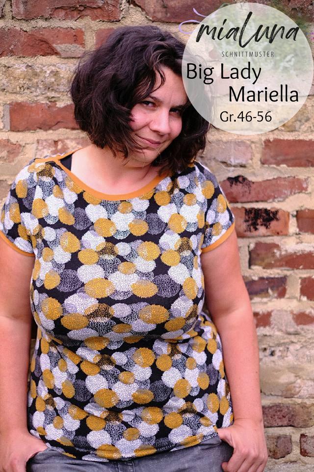 Produktfoto von mialuna zum Nähen für Schnittmuster Big Lady Mariella