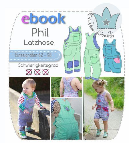 Produktfoto von prinzessin farbenfroh zum Nähen für Schnittmuster Phil