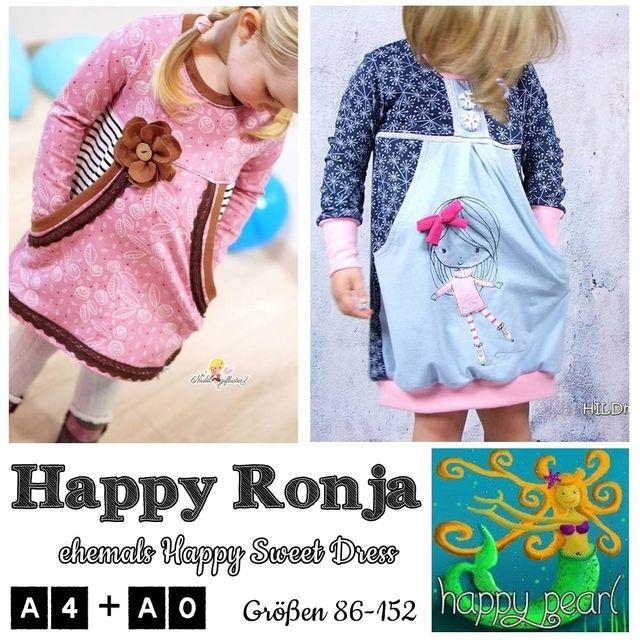 Produktfoto von Happy Pearl zum Nähen für Schnittmuster Happy Ronja (Happy Sweet Dress)