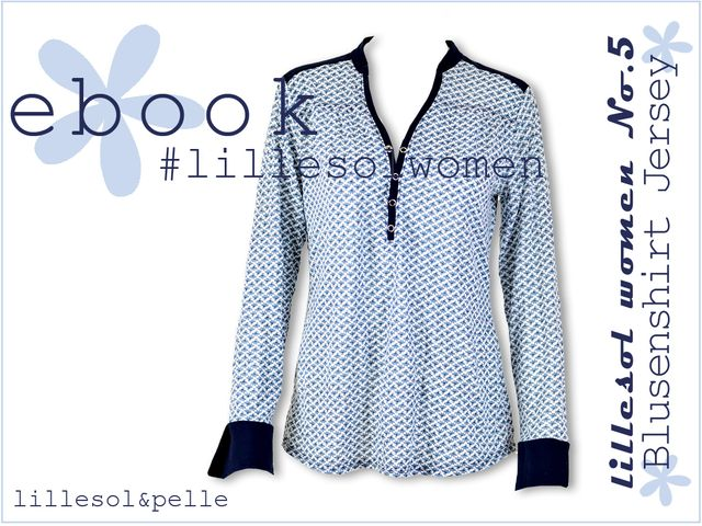 Produktfoto von Lillesol & Pelle zum Nähen für Schnittmuster Lillesol women No.5 Blusenshirt Jersey