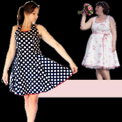 Produktfoto von Anni Nanni zum Nähen für Schnittmuster AnniNanni Kleid