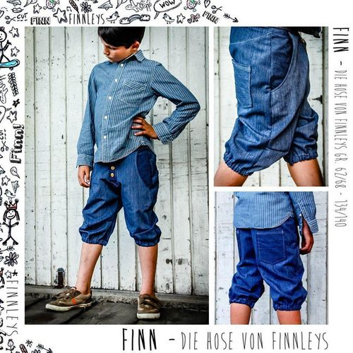 Produktfoto von Finnleys zum Nähen für Schnittmuster Finn