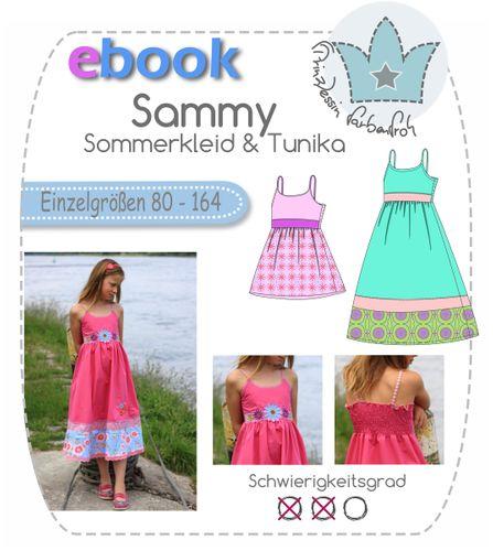 Produktfoto von prinzessin farbenfroh zum Nähen für Schnittmuster Sammy