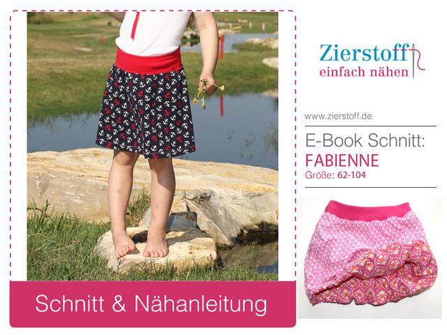 Produktfoto von Zierstoff zum Nähen für Schnittmuster Fabienne 62-104
