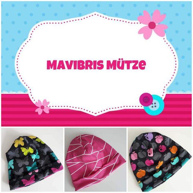 Produktfoto von Mavibri zum Nähen für Schnittmuster Mavibris Mütze