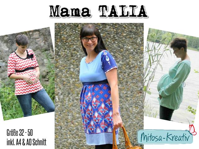 Produktfoto von MiToSa-Kreativ zum Nähen für Schnittmuster Mama-Talia