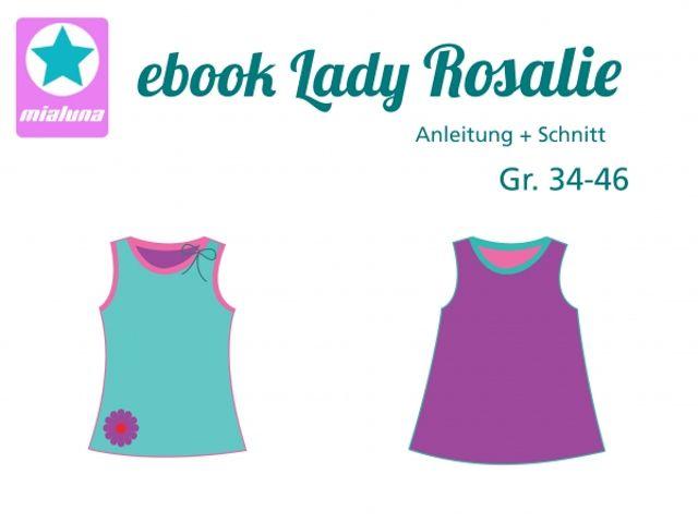 Produktfoto von mialuna zum Nähen für Schnittmuster Lady Rosalie