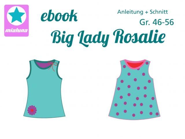 Produktfoto von mialuna zum Nähen für Schnittmuster Big Lady Rosalie