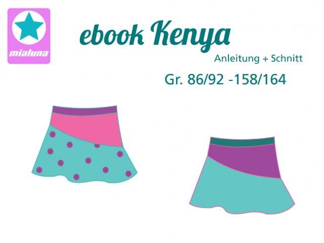 Produktfoto von mialuna zum Nähen für Schnittmuster Kenya