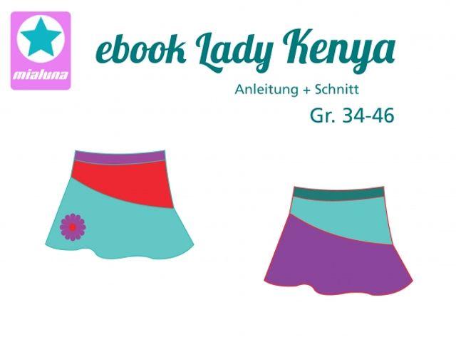 Produktfoto von mialuna zum Nähen für Schnittmuster Lady Kenya