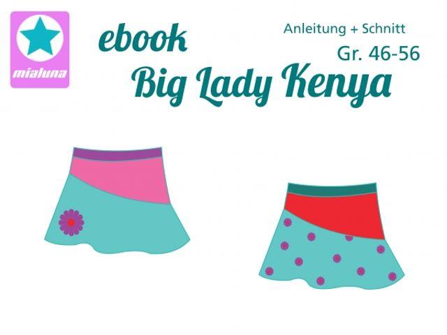 Produktfoto von mialuna zum Nähen für Schnittmuster Big Lady Kenya