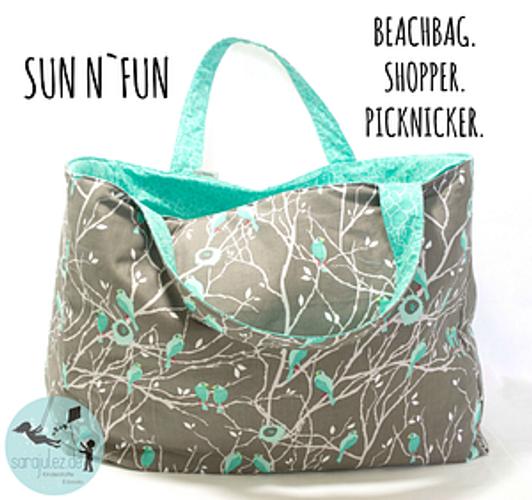 Produktfoto von Sara & Julez zum Nähen für Schnittmuster Sun n'Fun