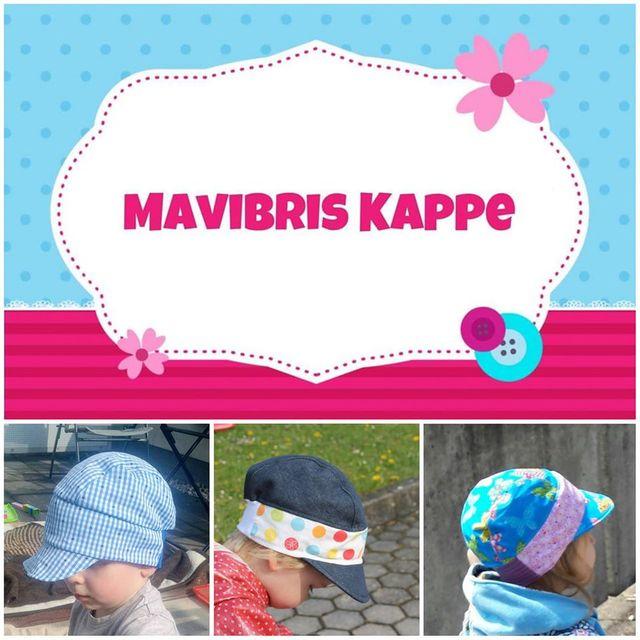 Produktfoto von Mavibri zum Nähen für Schnittmuster Mavibris Kappe