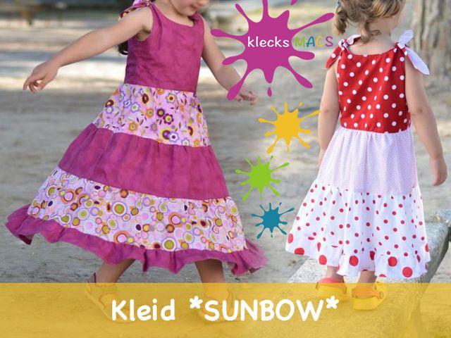 Produktfoto von klecksMACS zum Nähen für Schnittmuster Sunbow