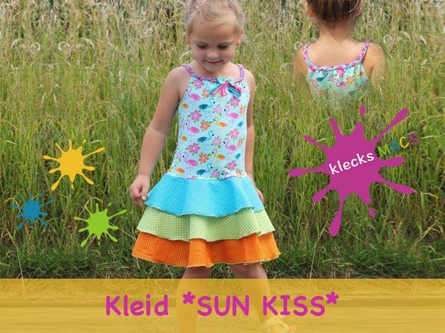 Produktfoto von klecksMACS zum Nähen für Schnittmuster Sun Kiss