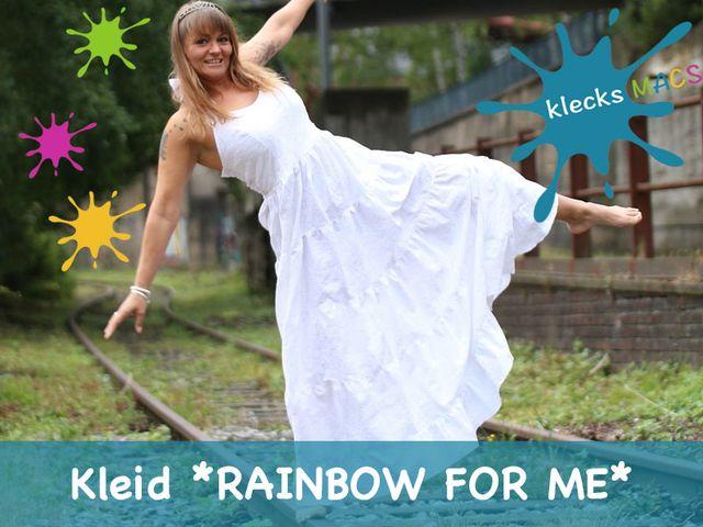 Produktfoto von klecksMACS zum Nähen für Schnittmuster Rainbow for me