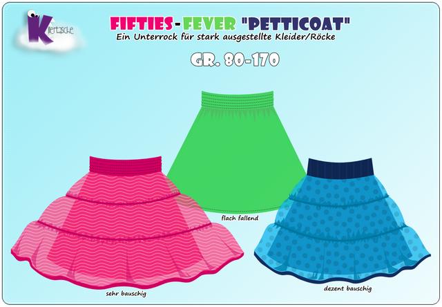 Produktfoto von KillerTasche zum Nähen für Schnittmuster Fifties-Fever Petticoat