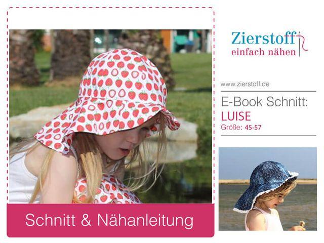 Produktfoto von Zierstoff zum Nähen für Schnittmuster Luise