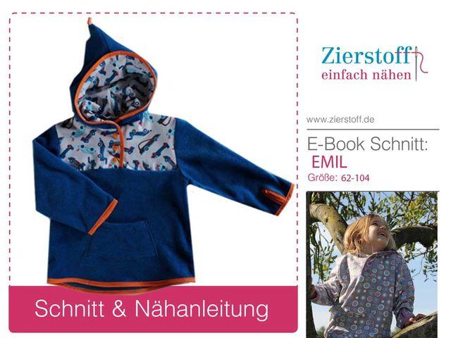 Produktfoto von Zierstoff zum Nähen für Schnittmuster Emil 62-104