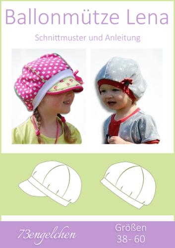 Produktfoto von 73engelchen zum Nähen für Schnittmuster Ballonmütze Lena