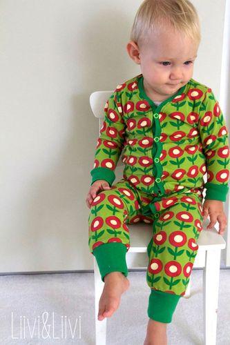 Produktfoto von Kid5 zum Nähen für Schnittmuster #35 Baby-Jumpsuit