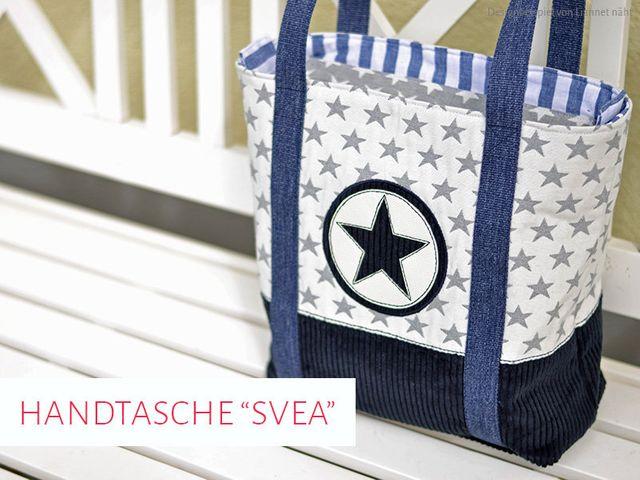 Produktfoto von kreativlabor Berlin zum Nähen für Schnittmuster Handtasche Svea