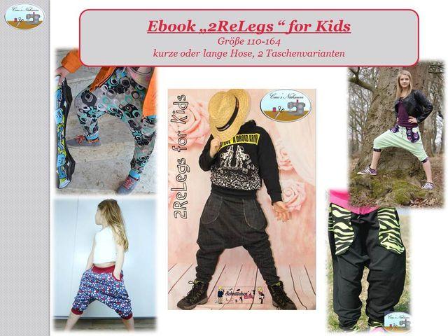 Produktfoto von Caro's Nähseum zum Nähen für Schnittmuster 2ReLegs for Kids
