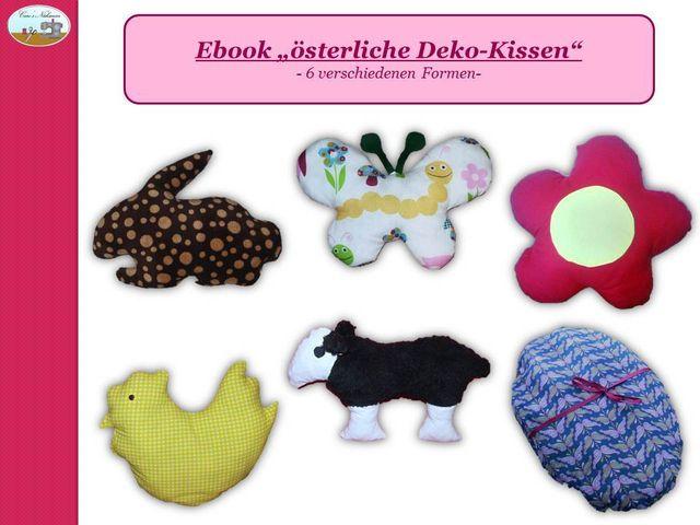 Produktfoto von Caro's Nähseum für Schnittmuster Österliche Deko-Kissen