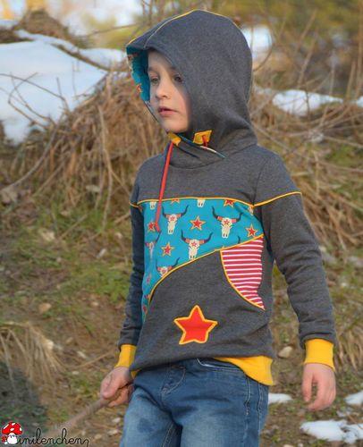 Produktfoto von BeeKiddi zum Nähen für Schnittmuster BeeStyle Kids Boys