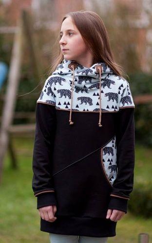 Produktfoto von BeeKiddi zum Nähen für Schnittmuster BeeStyle Kids Girls