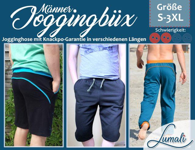 Produktfoto von Lumali zum Nähen für Schnittmuster Joggingbüx for Men