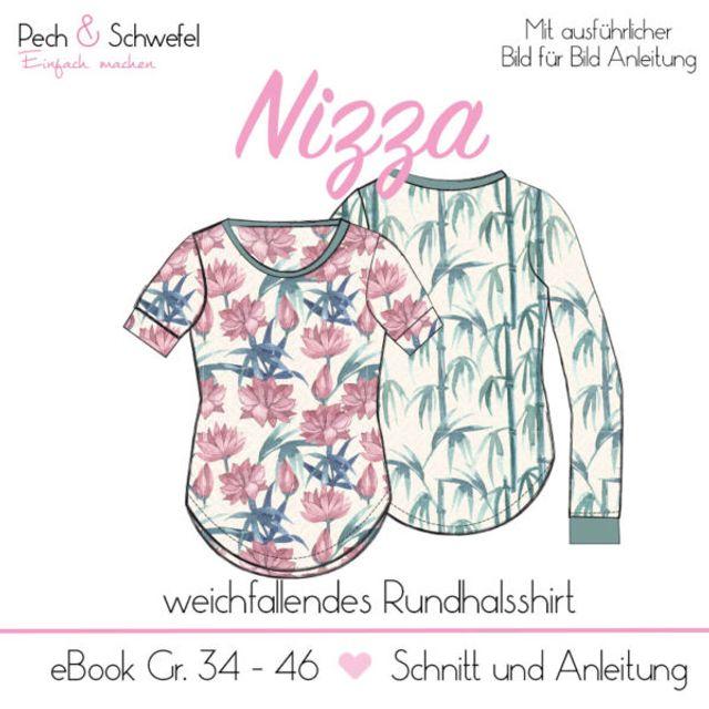 Produktfoto von Pech & Schwefel zum Nähen für Schnittmuster Shirt Nizza
