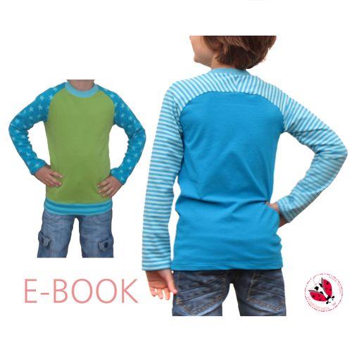 Produktfoto von Muhküfchen Design zum Nähen für Schnittmuster Raglan-Longsleeve Smart-Shirt