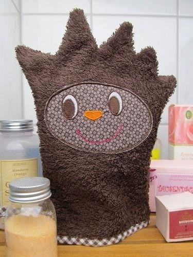 Produktfoto von I'm sew happy! zum Nähen für Schnittmuster Tierischer Waschlappen Igel