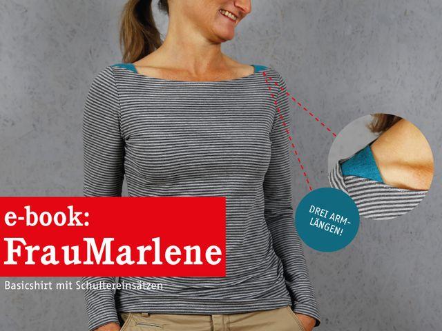 Produktfoto von STUDIO SCHNITTREIF zum Nähen für Schnittmuster Frau Marlene