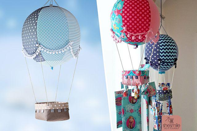 Produktfoto von shesmile zum Nähen für Schnittmuster Adventsballon
