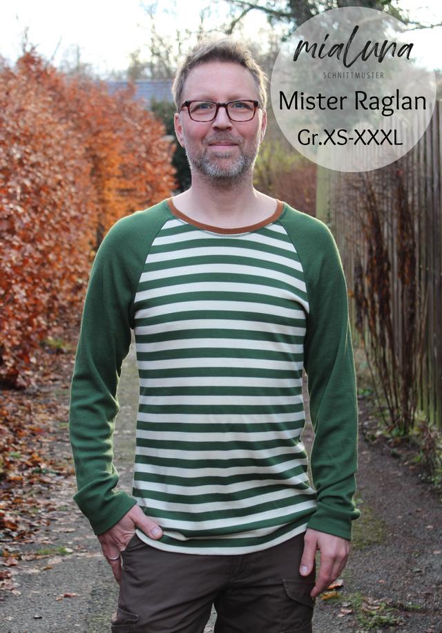 Produktfoto von mialuna zum Nähen für Schnittmuster Mister Raglan