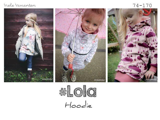 Produktfoto von rosarosa zum Nähen für Schnittmuster Lola 2.0