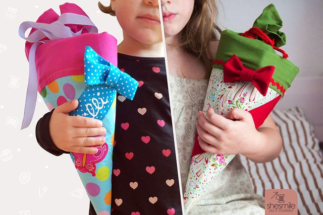 Produktfoto von shesmile zum Nähen für Schnittmuster Schultüte