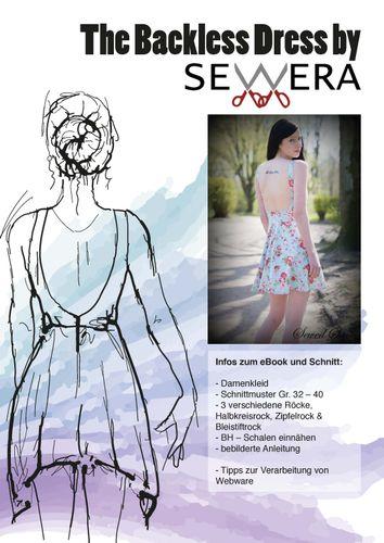 Produktfoto von sewera zum Nähen für Schnittmuster The Backless Dress