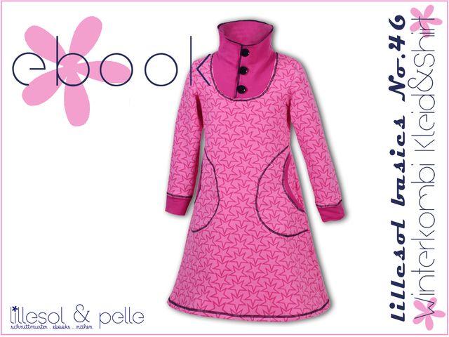 Produktfoto von Lillesol & Pelle zum Nähen für Schnittmuster Lillesol basics No. 46 Winterkombi Kleid & Shirt