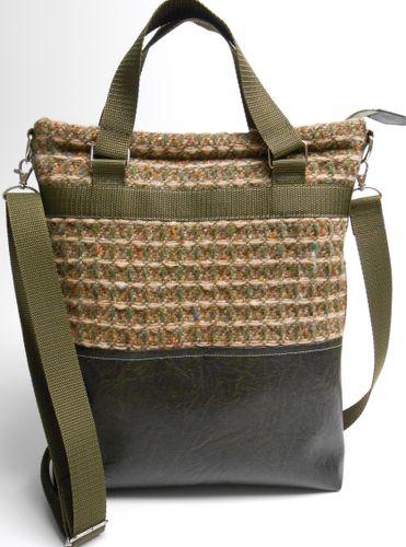 Produktfoto von Frau Schnitte zum Nähen für Schnittmuster Tasche Berit