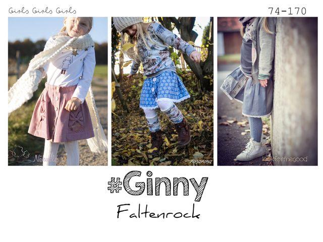 Produktfoto von rosarosa zum Nähen für Schnittmuster Faltenrock Ginny