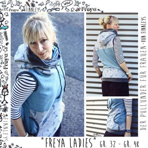 Produktfoto von Finnleys zum Nähen für Schnittmuster Freya Ladies