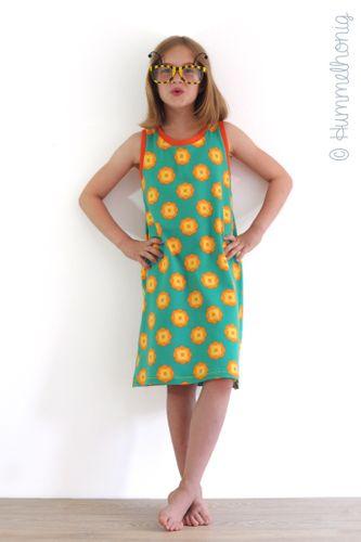 Produktfoto von Hummelhonig zum Nähen für Schnittmuster Giraffe - Tanktop Kleid