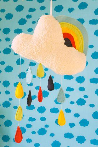 Produktfoto von Frau Scheiner zum Nähen für Schnittmuster Spieluhr und Mobile