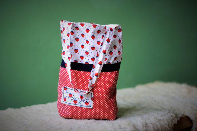 Produktfoto von Von Lange Hand zum Nähen für Schnittmuster Kindergartenbeutel/Wendebeutel